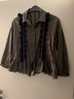 Jacke Hemd von Zara mit Bommeln