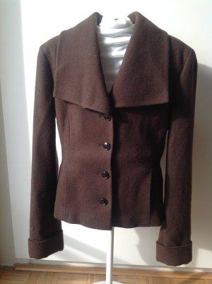 HUGO Hugo Boss Veste en laine brun rouge laine vierge