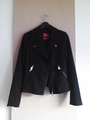 Jacke im biker Stil in schwarz, Grösse M, neu