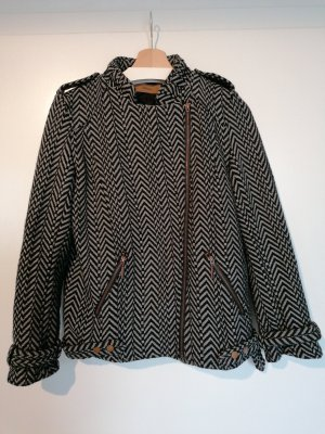 Skunkfunk Biker Jacket black-grey