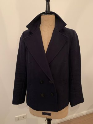 Zara Basic Naval Jacket dark blue
