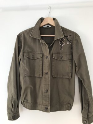 Only Pea Jacket khaki