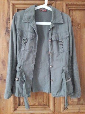 la rochelle Military Jacket green grey