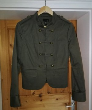 Jacke im Military Look in oliv/khaki
