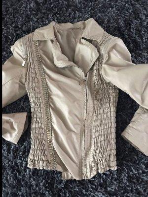 Jacke in beige - aktuelle Saison - passt für S-M