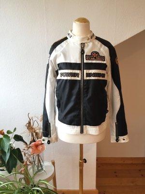 Jacke in Biker Stil