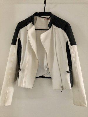 Biker Jacket white-black