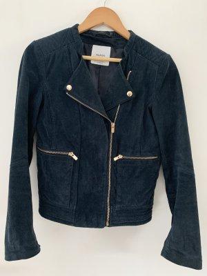 Jacke in blau/gold von Mango