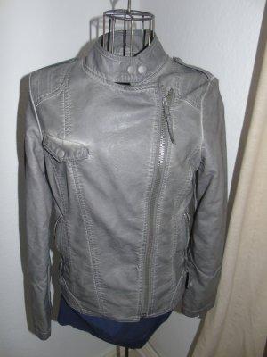 Jacke in grau, Gr. 38