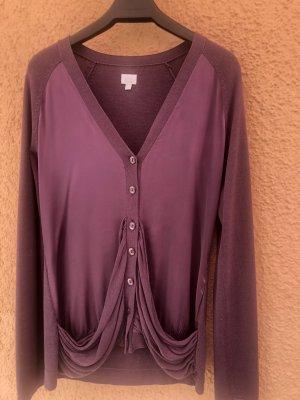 Alba Moda Cardigan viola-grigio