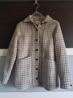 Jacke / Jacket aus Wolle in Karomuster von Sezane, Gr. XS