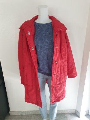 Vintage Chaqueta holgada color plata-rojo