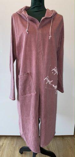 Chaqueta de tela de sudadera rosa empolvado Algodón