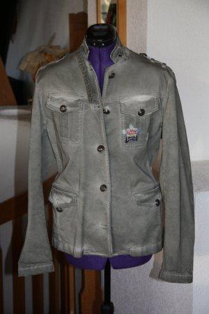 Jacke khaki mit tollen Details