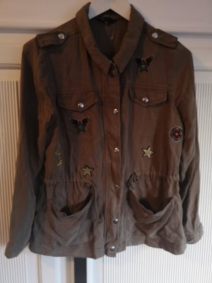 Ms mode Military Jacket khaki lyocell