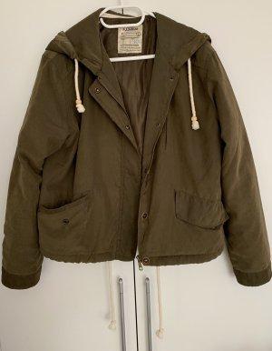 Jacke Khaki Pull & Bear 40/L