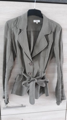 Anne L. Jacket grey brown