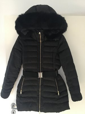 Esprit Quilted Coat black polyester