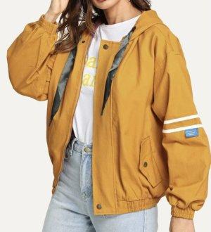 100% Fashion Giacca bomber arancione chiaro