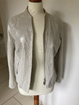 Best Connections Leather Jacket oatmeal
