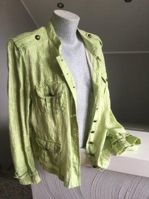 Bandolera Jacket lime-green