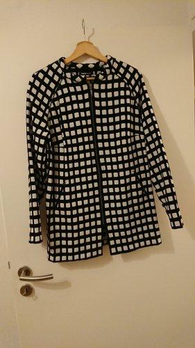 Frank Walder Chaqueta estilo camisa blanco-negro