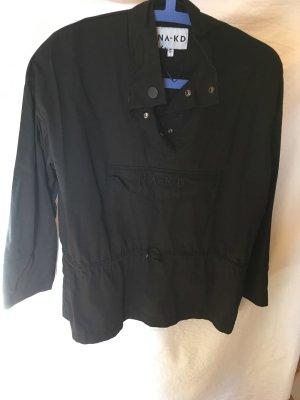 Heavy Raincoat black cotton