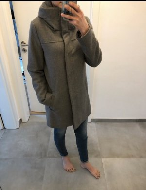 Jacke Mantel grau Tom tailor s 34 36 Parka Mode Blogger Fashion