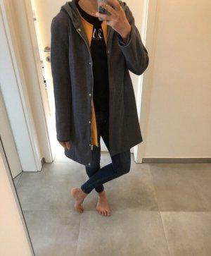 Jacke mantel grau Vero moda xs s 34 36 Parka Kapuze