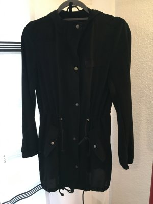H&M Long Jacket black