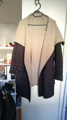 jacke mantel knit wear zara