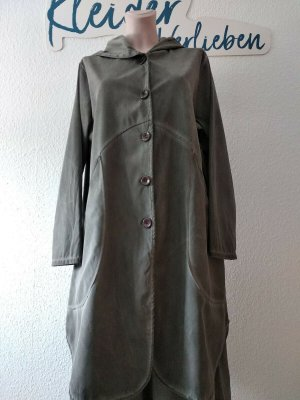 Moonshine Fashion Płaszcz z kapturem szary Poliester