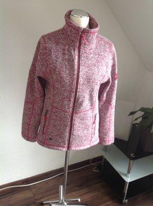 McKinley Giacca rosa-bianco