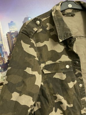0039 Italy Military Jacket multicolored