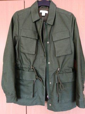 H&M Veste militaire vert forêt