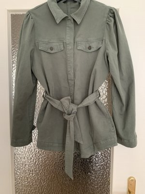 Jacke Military Übergangsjacke Blusenjacke Hemdjacke Khaki