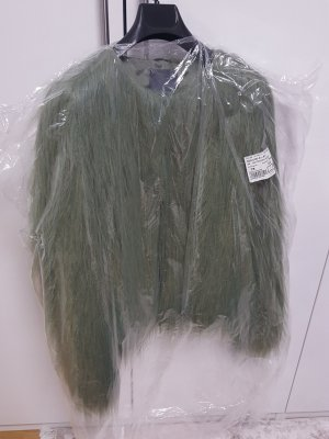 Jacke mit Fell NEU grün s.oliver premium