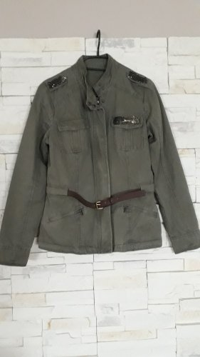unknown Militair jack khaki