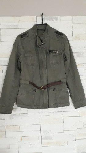 unknown Militair jack khaki