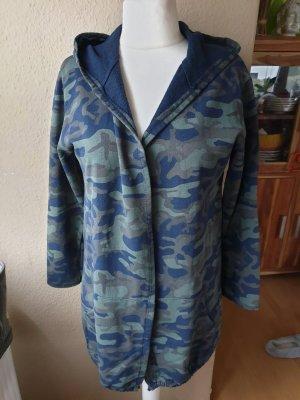 Jacke mit Kapuze Camouflage von Made in Italy