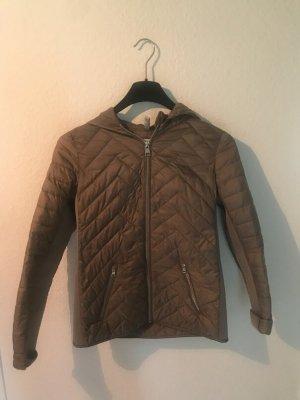 Jacke mit Kapuze Größe 34  grün