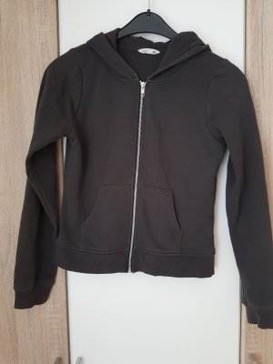 H&M Sweat Jacket grey brown