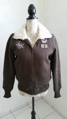 eight 2 nine Fake Fur Jacket multicolored