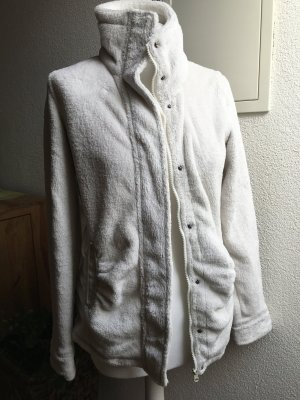 Outdoor Jacket natural white polyester