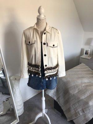 Jacke mit Muscheln Zara