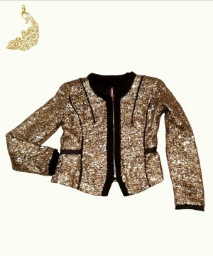 Sweewe Short Jacket gold-colored
