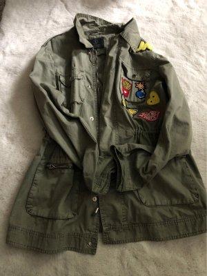 Jacke mit patches
