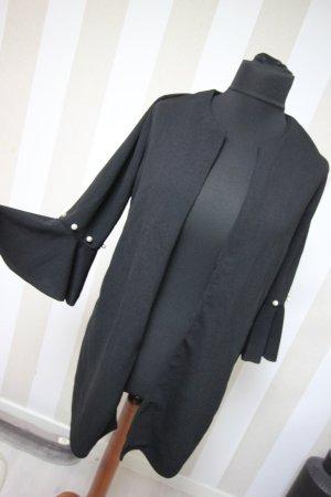 Giacca lunga nero-bianco