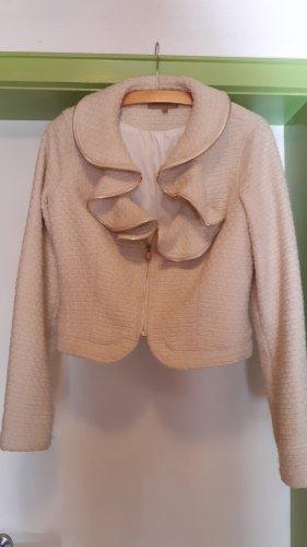 Manoukian Wool Jacket natural white