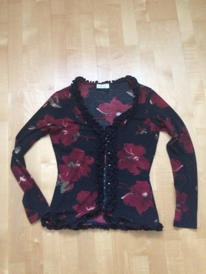 Collection Blouse Jacket black-bordeaux